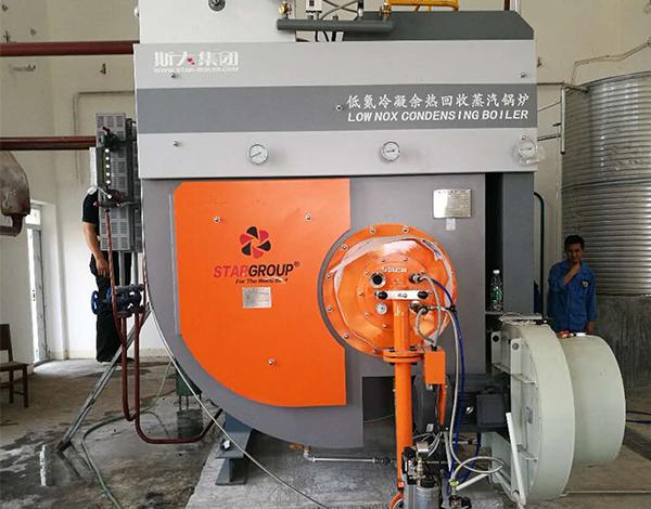襄阳东方化工4吨全冷凝蒸汽锅